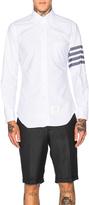 Thom Browne Bar Stripe Oxford Shirt