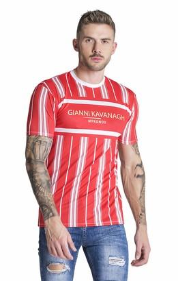 Gianni Kavanagh Men's Red Ibiza Tee Undershirt L