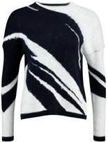 Kiomi Jumper white & blue