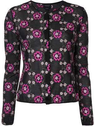 Giambattista Valli Floral Embroidered Top