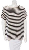 Tory Burch Wool-Blend Striped Sweater