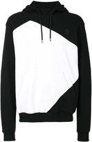 Versus colour block hoodie
