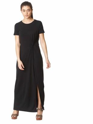 Vero Moda Women's Vmava Lulu Ss Ancle Dress Noos Casual