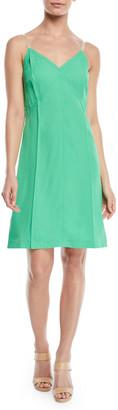Helmut Lang V-Neck Mini Slip Dress