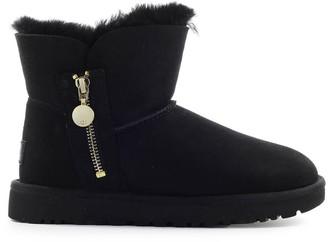 UGG Bailey Zip Mini Black Boot