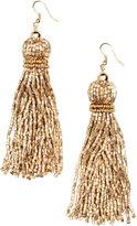 H&M Long Earrings - Gold-colored - Ladies