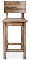 "Mudhut Perdana Wood 35.5"" Counter Stool"
