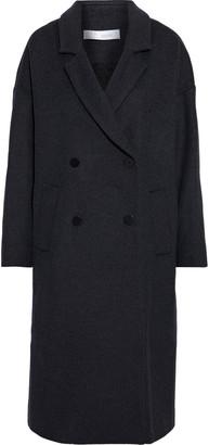 IRO Bandy Oversized Double-breasted Wool-blend Felt Coat