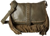 Scully Mandy Soft Fringe Leather Handbag