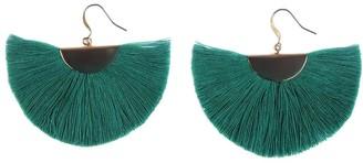 Slate & Salt Half Moon Fan Earrings