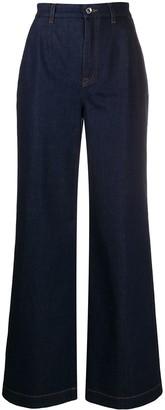 Dolce & Gabbana Wide Leg Jeans