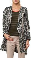 Akris Punto Women's Tropical Leaf Jacquard Coat