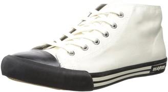 SeaVees Men's 04/67 White Walls Mid-Cut Fashion Sneaker