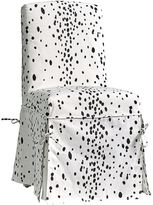 Slipcover Desk Chair, Dalmatian Slipcover + Insert