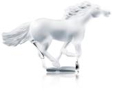 Lalique Kazak Gold Horse Figurine