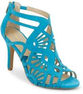 Adrienne Vittadini Gaven Suede Cutout Sandals