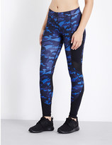 Ivy Park Camouflage-print skinny mid-rise jersey leggings