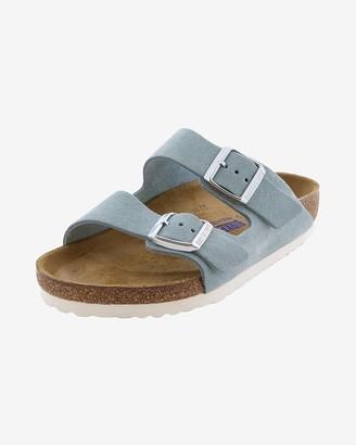 Express Birkenstock Arizona Suede Two-Strap Sandals