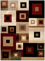 Tribeca Heat Set 5-Foot 3-Inch x 7-Foot 2-Inch Area Rug in Multi