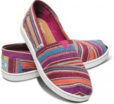 Toms Purple Serape Youth Classics
