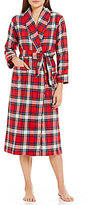 Sleep Sense Flannel Wrap Robe