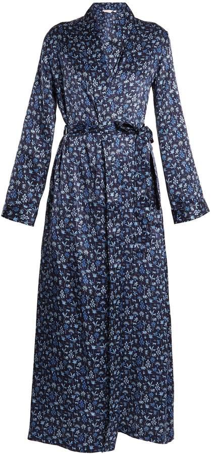 Derek Rose Brindisi 23 silk-satin robe