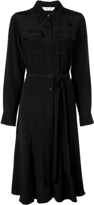 Diane von Furstenberg chest pocket shirt dress