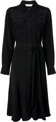 Dvf Diane Von Furstenberg Chest Pocket Shirt Dress