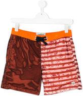 Vingino teen color block swim shorts - kids - Polyester - 14 yrs