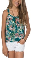 O'Neill Girl's Jessica Floral Tank