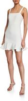 LIKELY Lilah Sleeveless Ruffle-Hem Dress