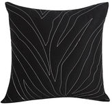 Kensie Kara Black Quilted Decorative Pillow