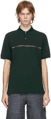 Paul Smith Green Signature Stripe Polo
