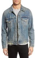 Citizens of Humanity Men's Distressed Denim Jacket