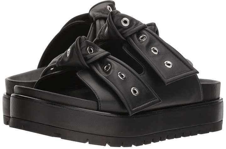 Alexander McQueen Platform Bow Sandal Women's Dress Sandals