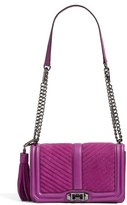 Rebecca Minkoff Love Crossbody Bag - Purple