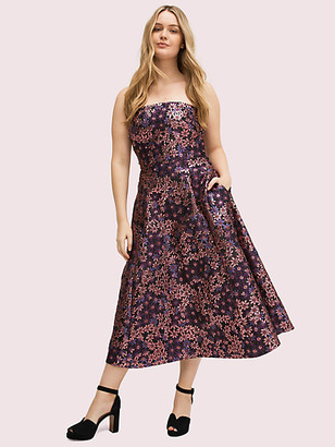 Kate Spade Pacific Petals Strapless Dress