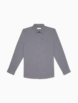 Calvin Klein Classic Fit Flannel Long Sleeve Shirt
