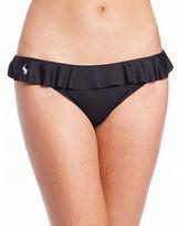 Polo Ralph Lauren Solids Ruffle Bikini Bottom
