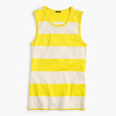 J.Crew Perfect-fit striped shell