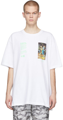 Off-White White Pascal Painting Over T-Shirt