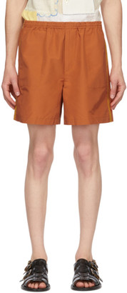 Bode Orange Rugby Shorts