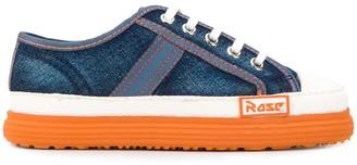 Martine Rose Denim Platform Sneakers