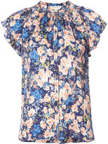 Rebecca Taylor floral print top - women - Silk - 2