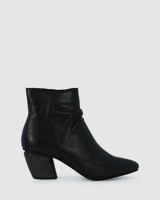 EOS Women's Black Heeled Boots - Attica - Size One Size, 36 at The Iconic