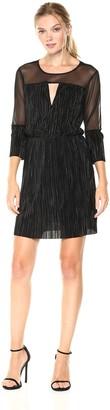 BCBGeneration Women's Crinkled Pleat Dress
