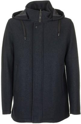 Herno Wool Coat With Hood