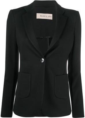 Blanca Vita Single-Breasted Blazer Jacket
