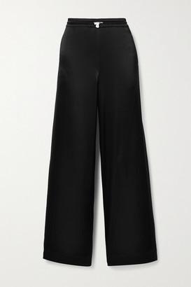 Tory Sport Satin Track Pants - Black