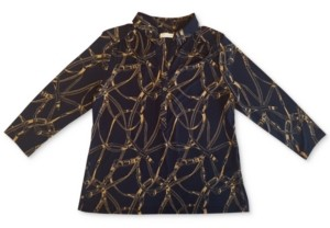 Charter Club 3/4-Sleeve Blouse, Created for Macy's